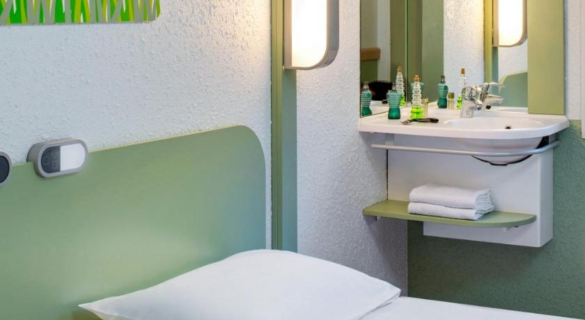 Twin Room Hotel Ibis Budget Vichy