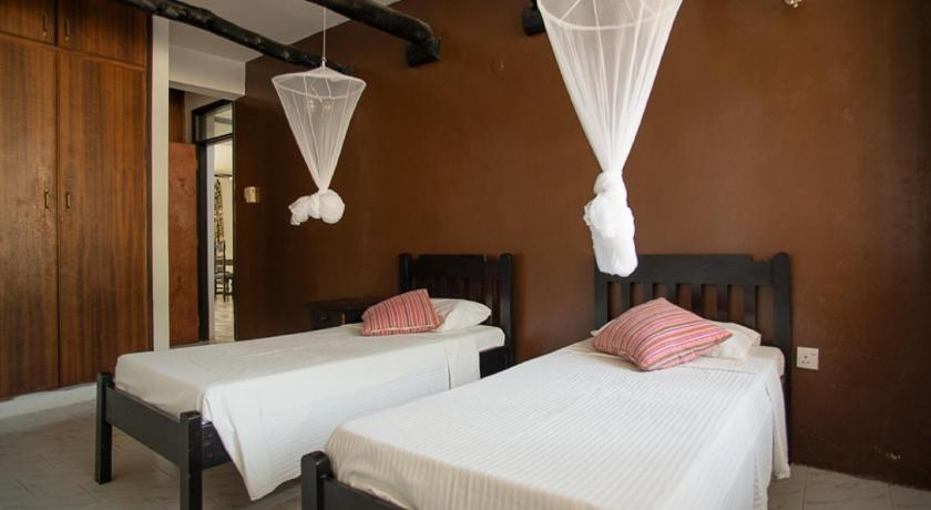 Budget Double or Twin Room in Shared Villa Bahari Dhow Beach Villas