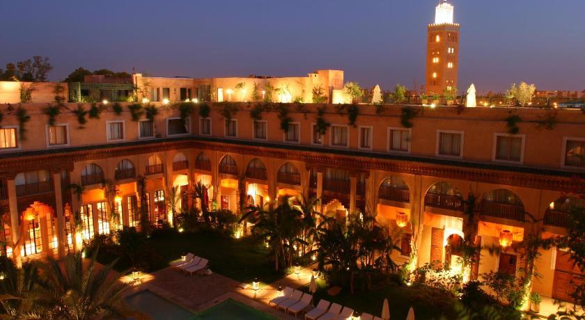 Best time to travel Morocco Les Jardins De La Koutoubia