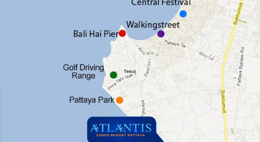Atlantis Condo Pattaya by Golden Pattaya