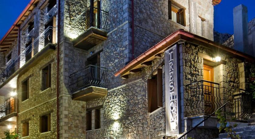 Best time to travel Greece Xenonas Iresioni