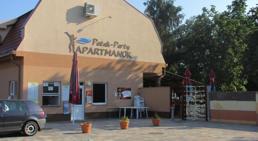 Patak-Party Apartmanok Dózsa György út 16/B Bogács