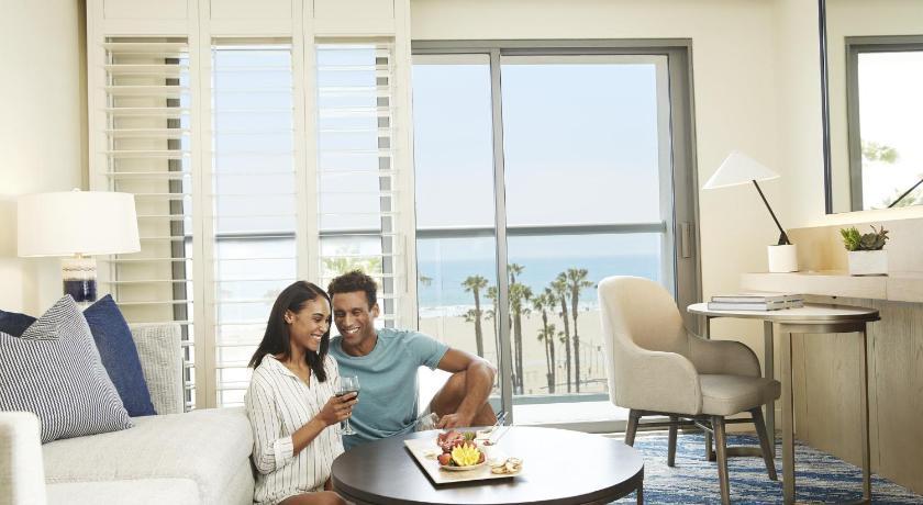 Loews Santa Monica Beach Hotel 1700 Ocean Avenue Los Angeles
