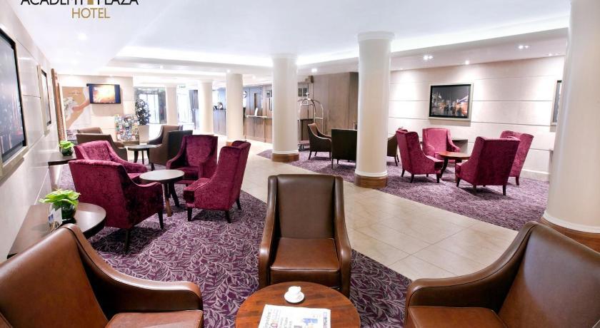 Best time to travel Ireland Academy Plaza Hotel