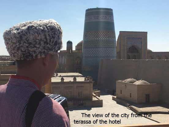 Best time to travel Khiva Zukhro Boutique Hotel