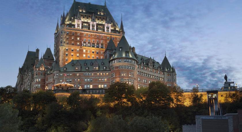 Best time to travel Quebec Fairmont Le Chateau Frontenac