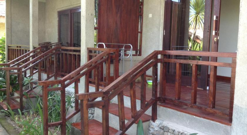 Deluxe Double Room with Sea View Kebun Rohani Cottages