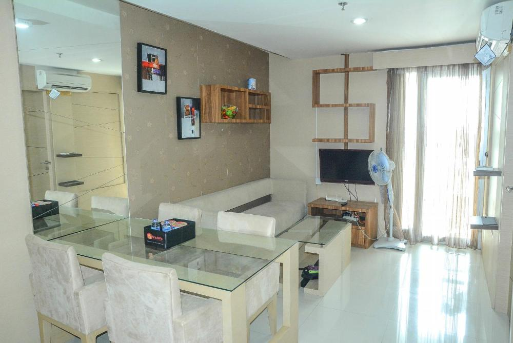 2br Green Central City Apartment By Travelio Hotel And Room Photos