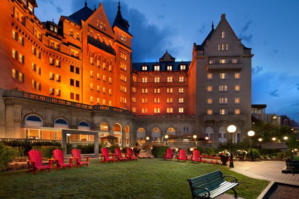Fairmont Hotels pool lounge