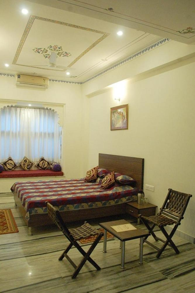 1 BR Guest house in Chandpole, Udaipur (BF10), by