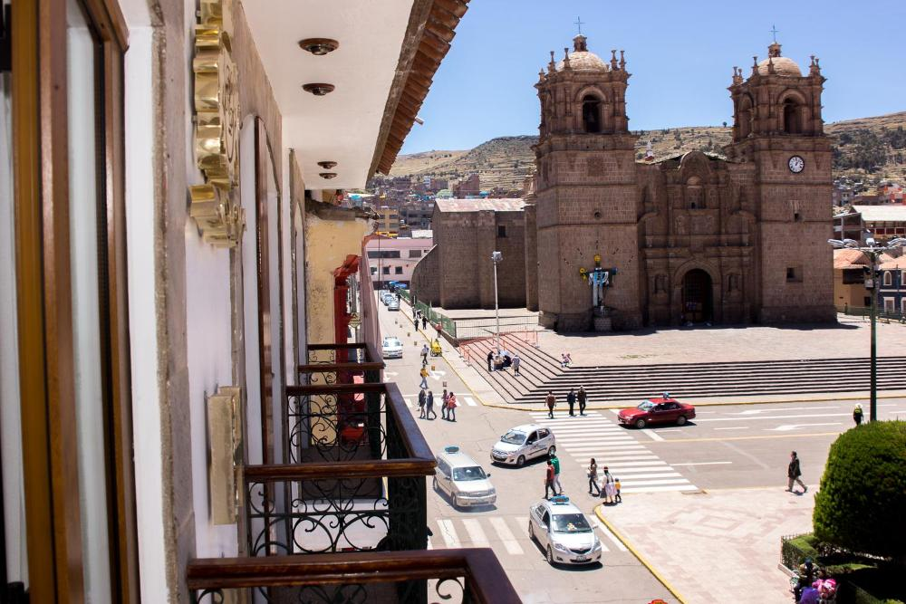 Hotel Hacienda Plaza de Armas