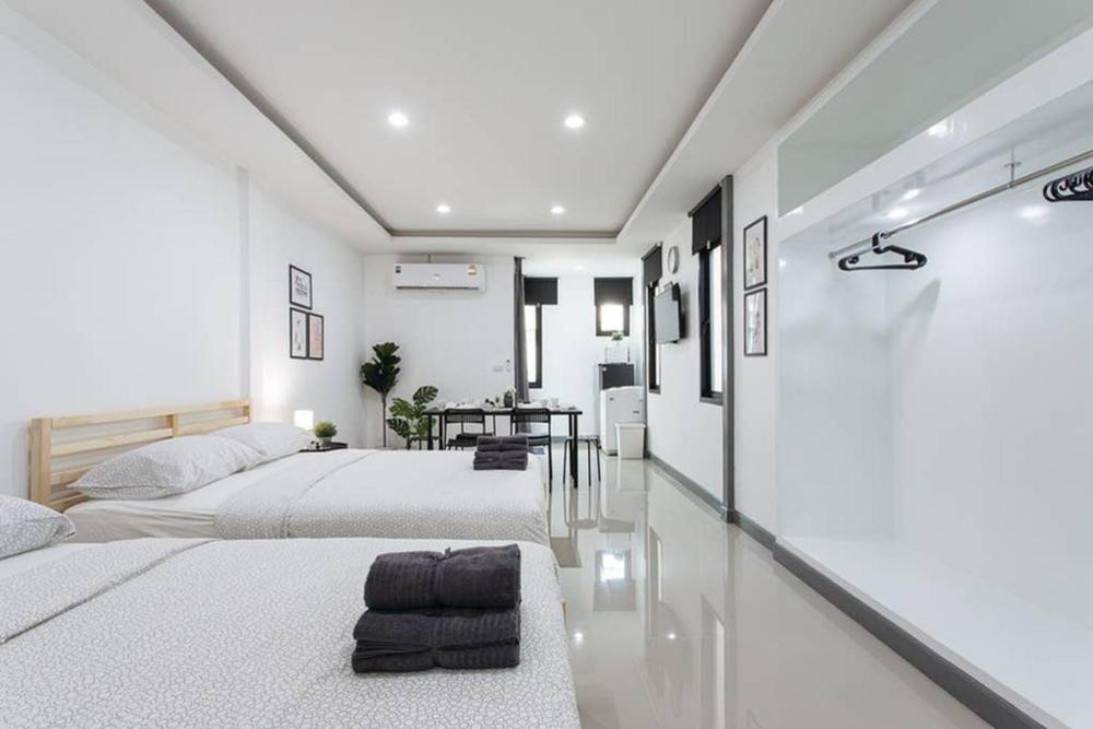 P4 Silom Large 2beds full kitchen WIFI