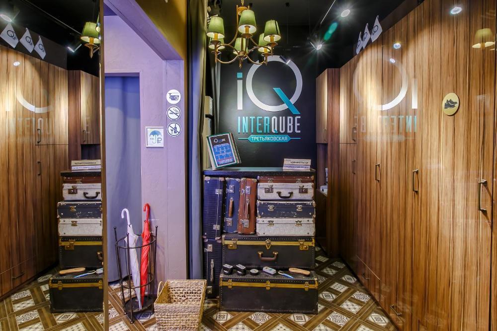 Capsule Hotel InterQUBE Tretyakovskaya