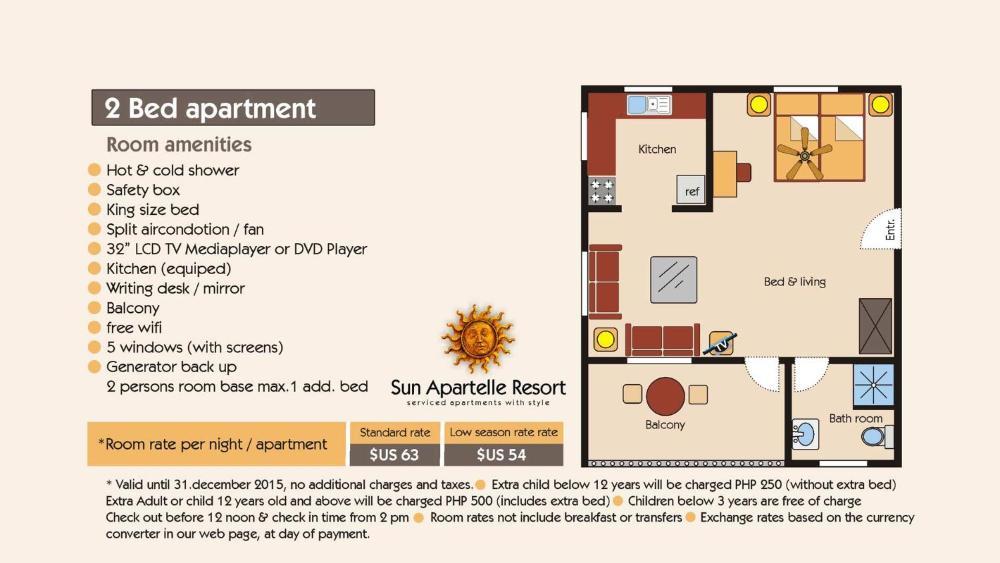 Sun Apartelle Prices Photos Reviews Address Philippines