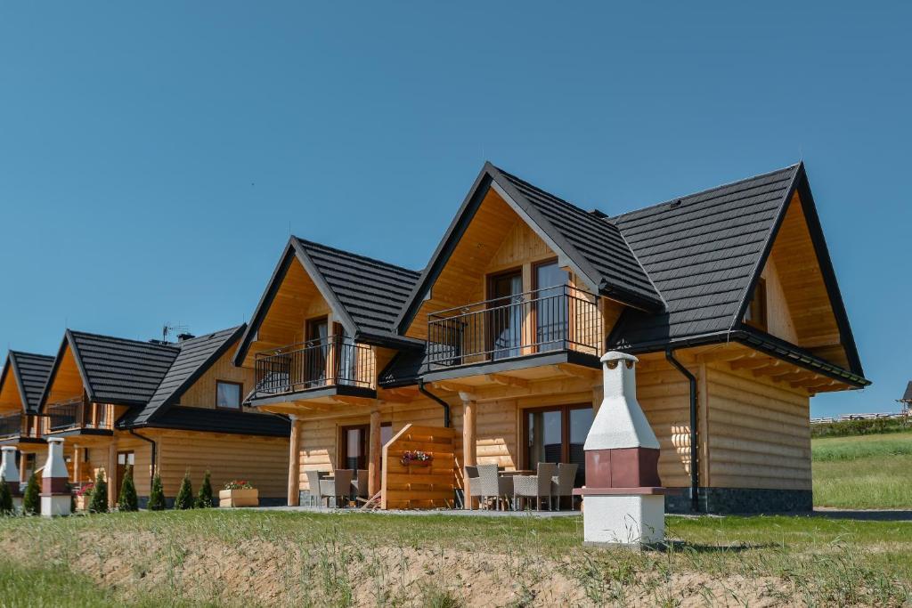 Domki Widokwka - Kluszkowce, w Kluszkowcach (ul