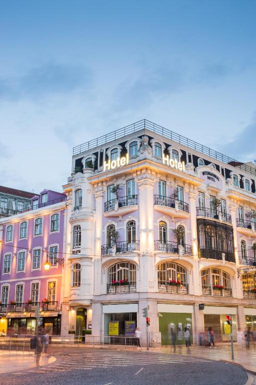 Internacional design hotel lissabon informationen und for Design 8 hotel soest