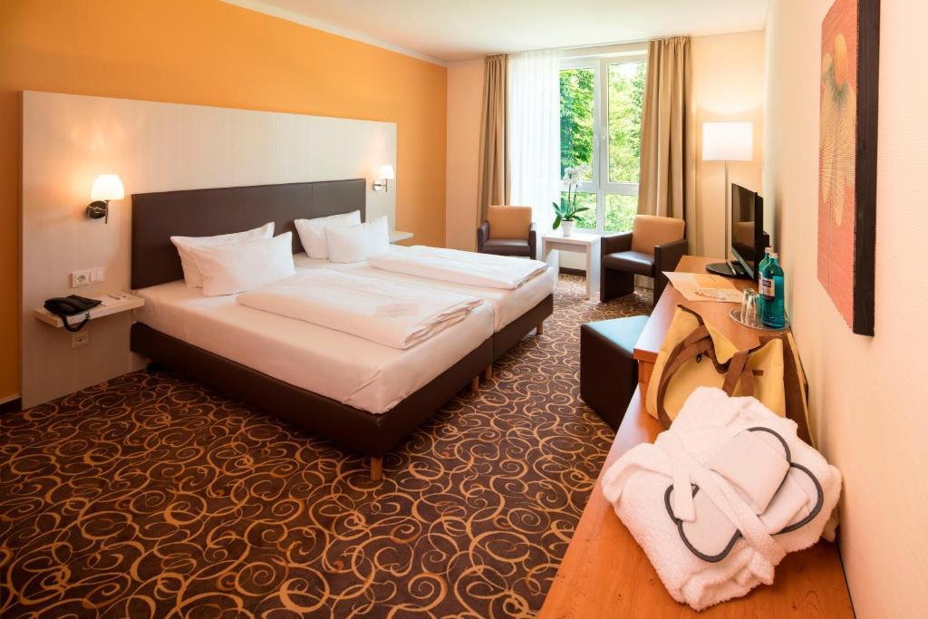 hotel thermalis bad hersfeld viamichelin informatie en online reserveren. Black Bedroom Furniture Sets. Home Design Ideas