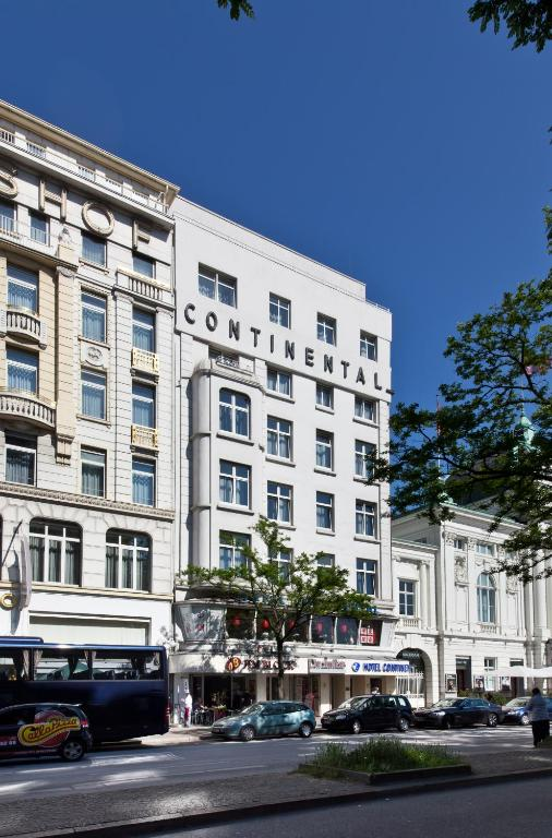 novum hotel continental hamburg hauptbahnhof r servation gratuite sur viamichelin. Black Bedroom Furniture Sets. Home Design Ideas