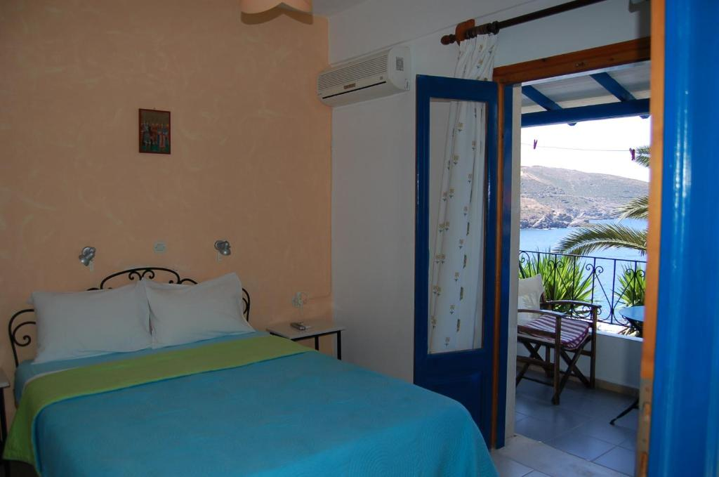 Double Room with Sea View Patras Apartments