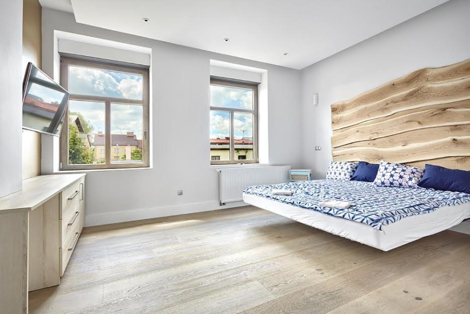 noclegi Augustów Blue Door Apartment