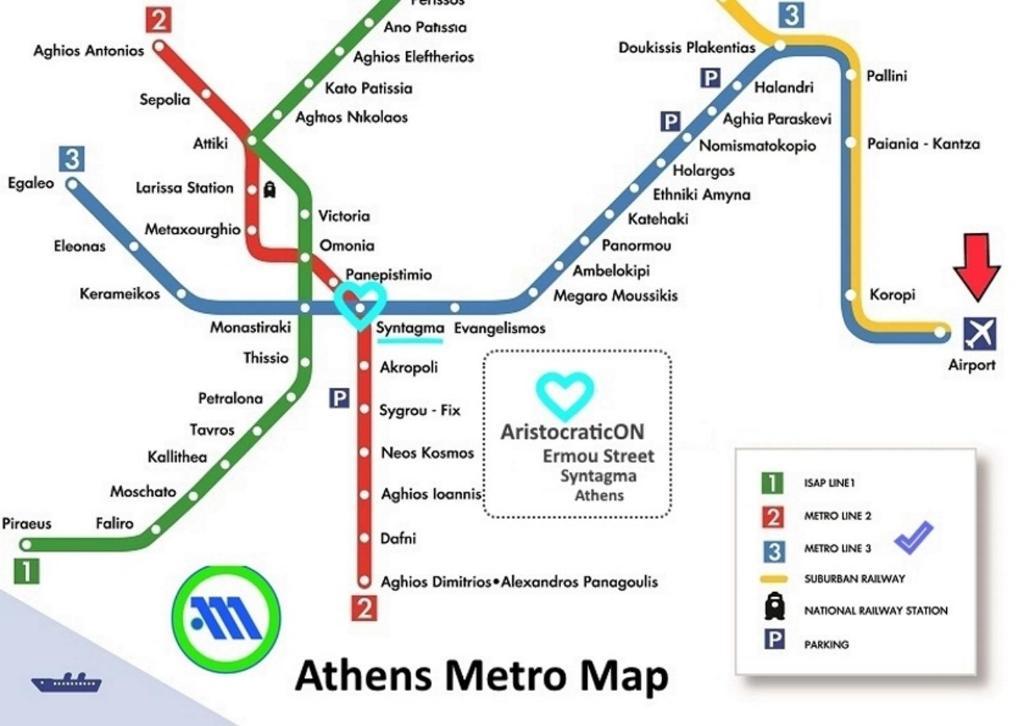 AristocraticON, 10563 Athen