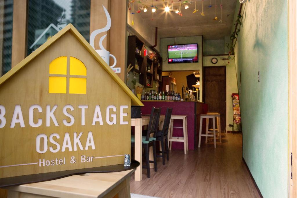 Backstage Osaka Hostel & Bar