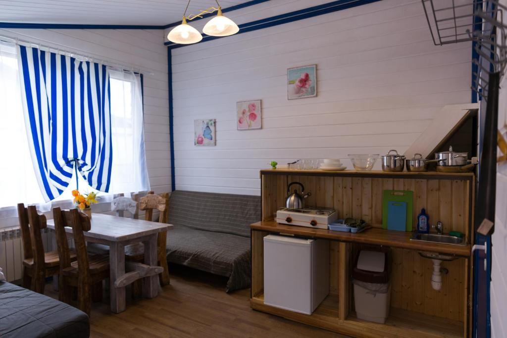 Апарт-коттедж Vintage-mini с сауной и мангалом Выборг экологичная часть города