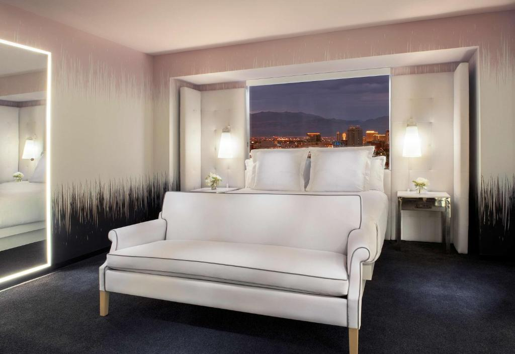 Book Now SLS Las Vegas a Tribute Portfolio Resort (Las Vegas, United States). Rooms Available for all budgets. A casino and top restaurants complement the outdoor pools on-site spa and southern Strip location at the SLS Las Vegas a Tribute Portfolio Resort. The high-rise SLS's three to