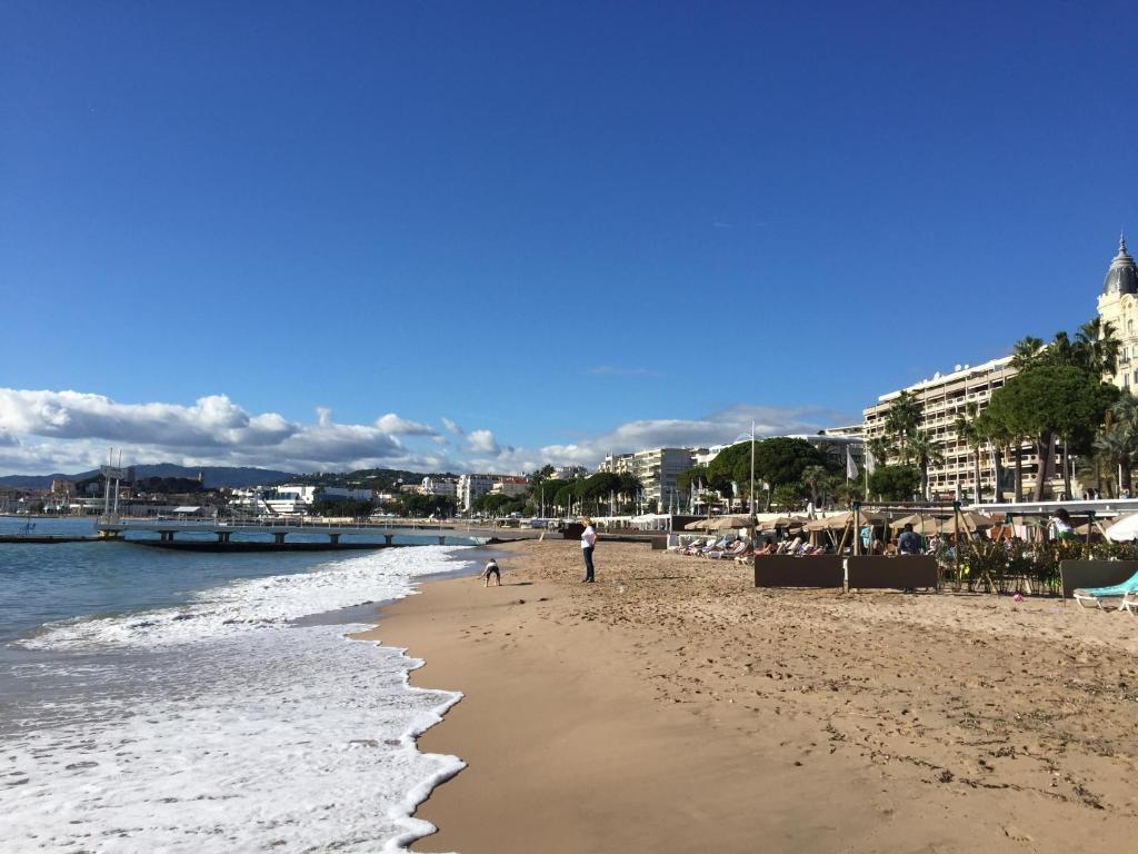 Palm beach Cannes