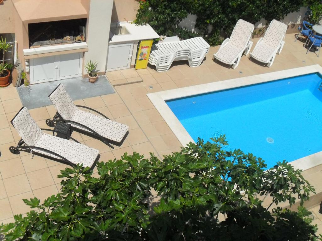 One-Bedroom Apartment with Balcony Apartments Villa Natali - Heating Pool
