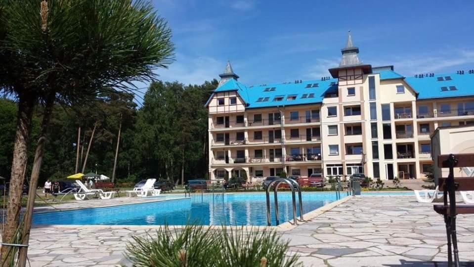 noclegi Łukęcin Apartament Rodzinny Blue Mare
