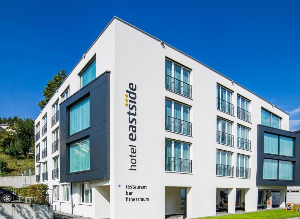 Hotel Eastside (free parking), 9008 St. Gallen