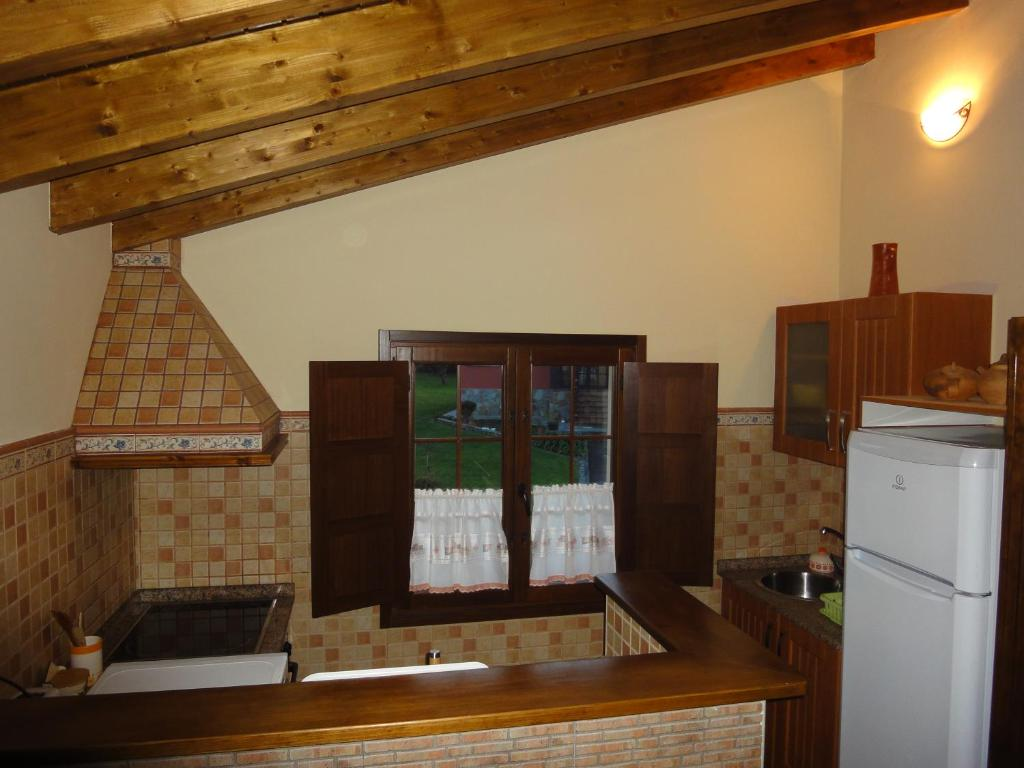 One-Bedroom Penthouse with Garden View Apartamentos Rurales Villa de Sain Cudillero