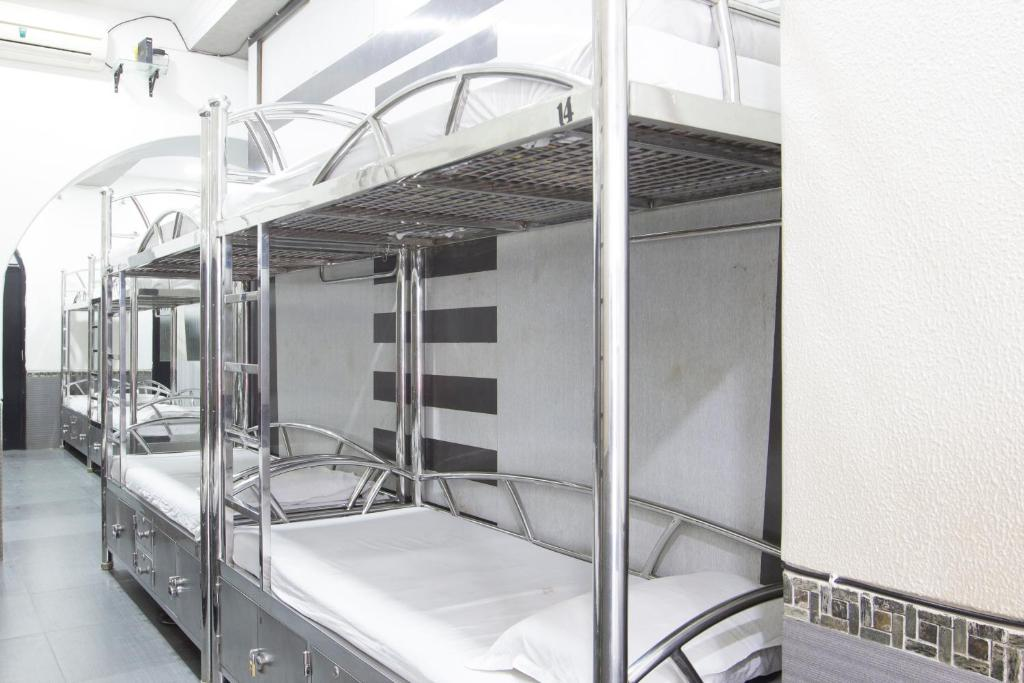 Bunk Bed in Male Dormitory Room  Welcome Guest House