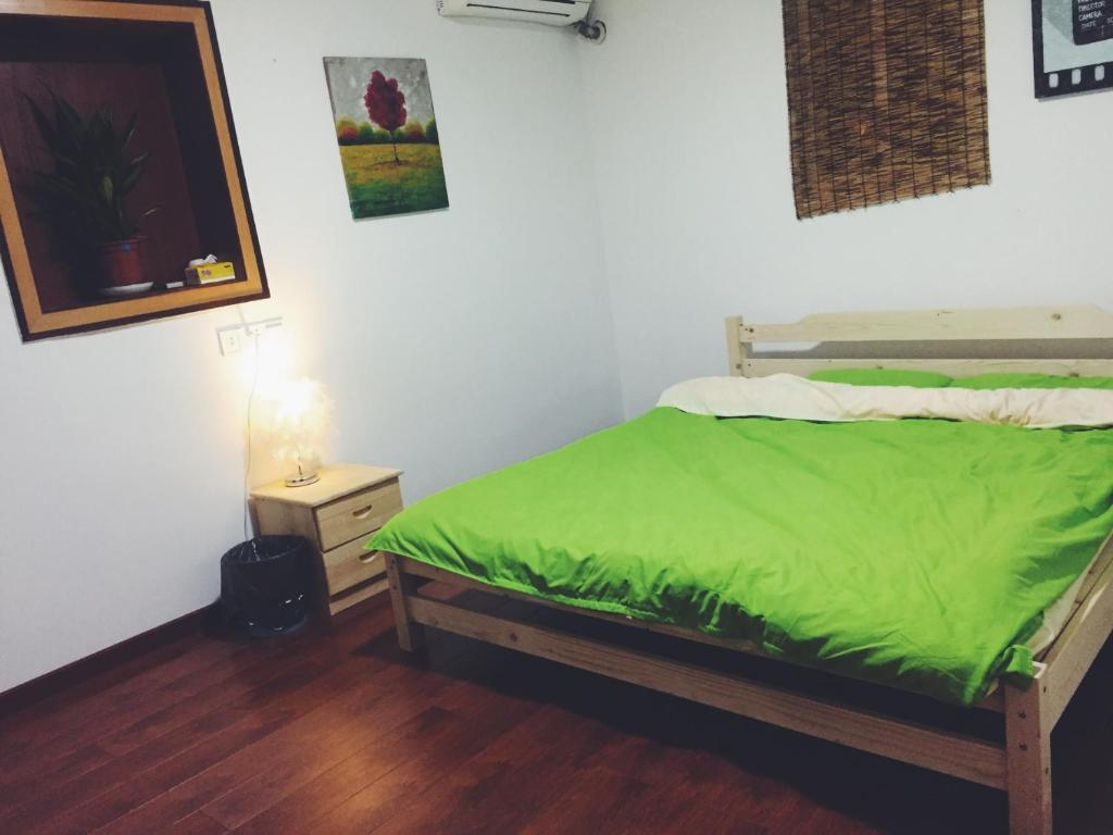 Double Room Meizhou Puxing Young Hostel