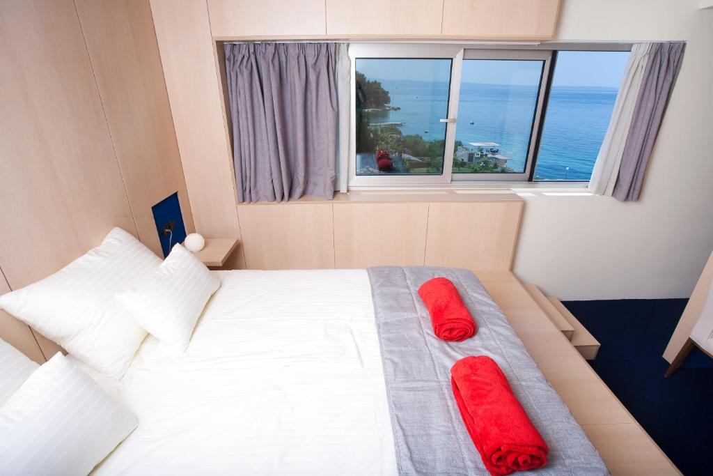 Standard Double Room with Sea View Hotel Split
