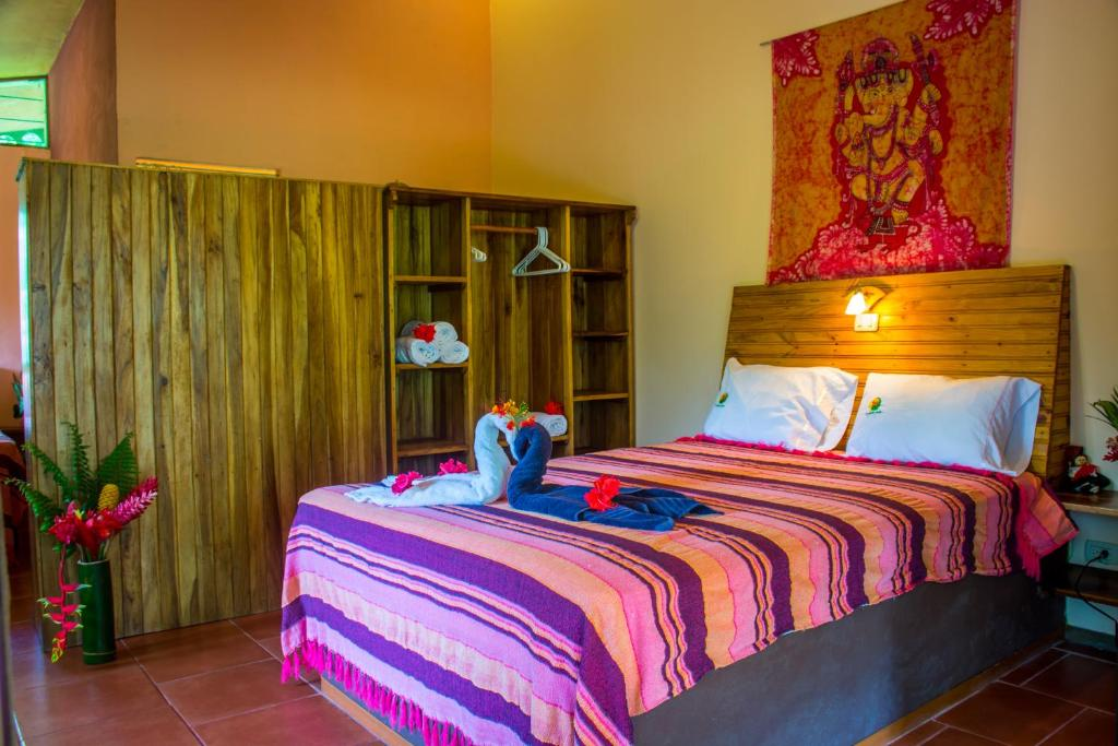 Standard Double Room with Two Double Beds The Goddess Garden Eco-Resort