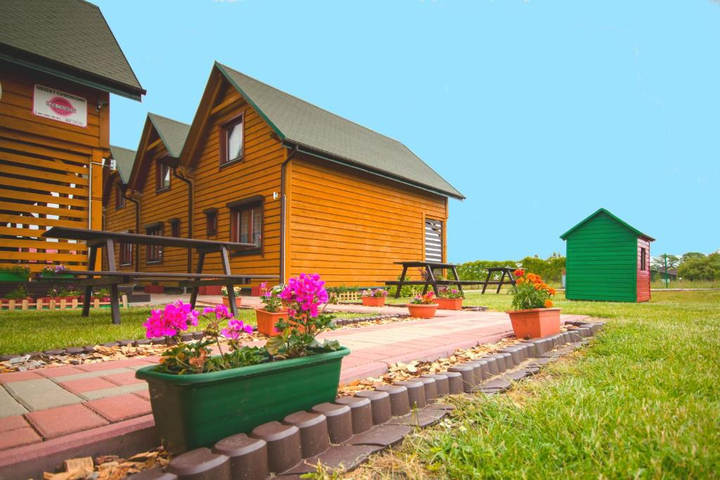 noclegi Sarbinowo Bajkowe domki