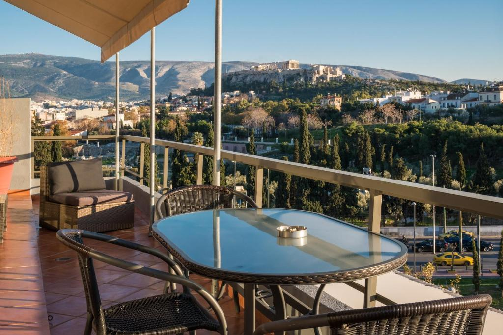 Virgo - Loft with Spectacular View to Acropolis