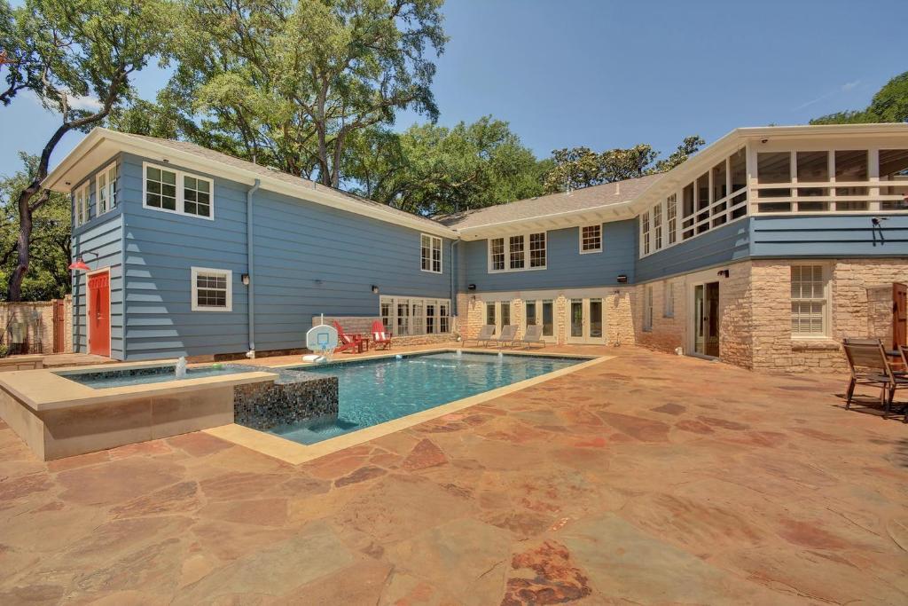 LBJ Estate near Lake Austin