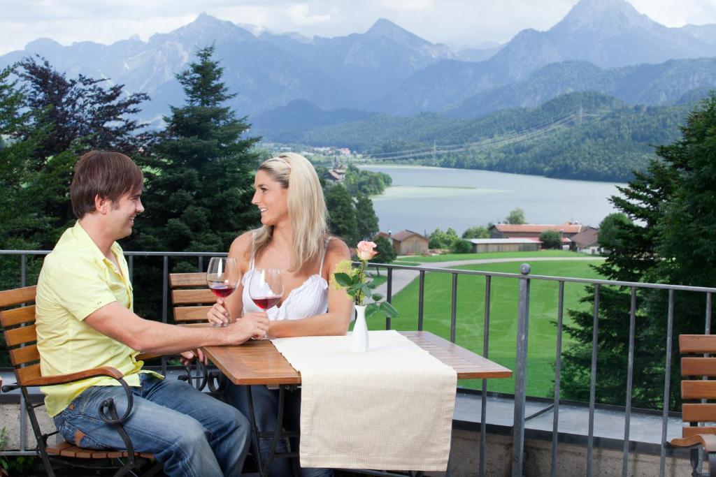 Hotel Bergruh Fussen Restaurant