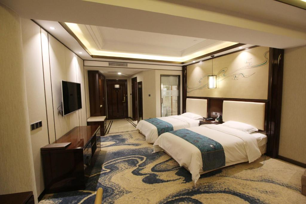Twin Room ZhangYe Diamond Hotel