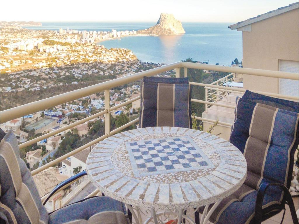 Four-Bedroom Holiday Home in Calpe