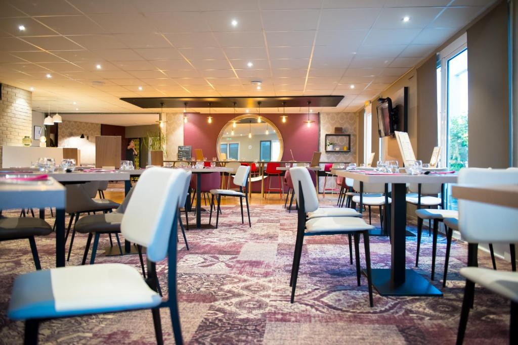 Brit Hotel Le Relecq Kerhuon Restaurant