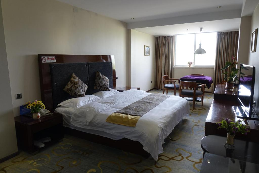 Double Room Beijing Haoyi Business Hotel