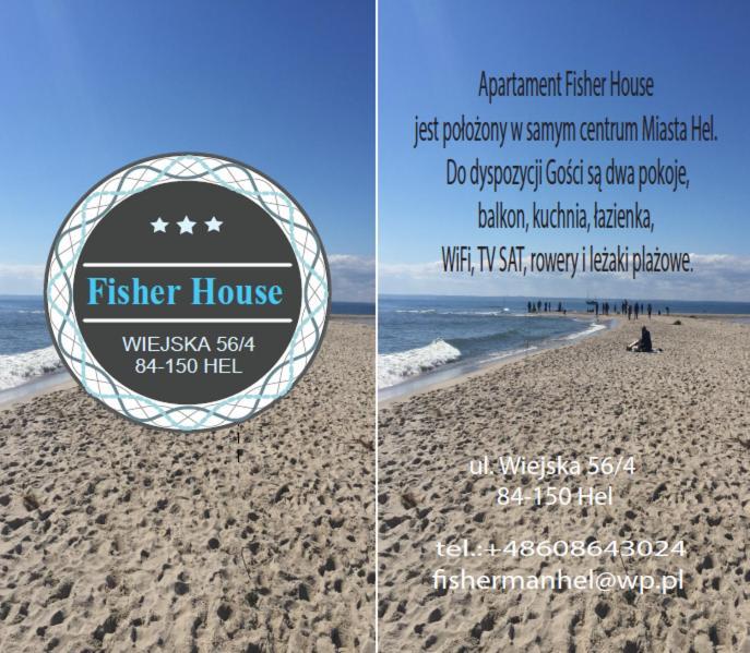 noclegi Hel Fisher House - Hel