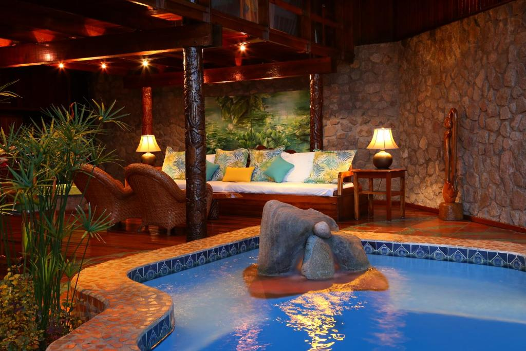 Heritage Suite with heated pool
