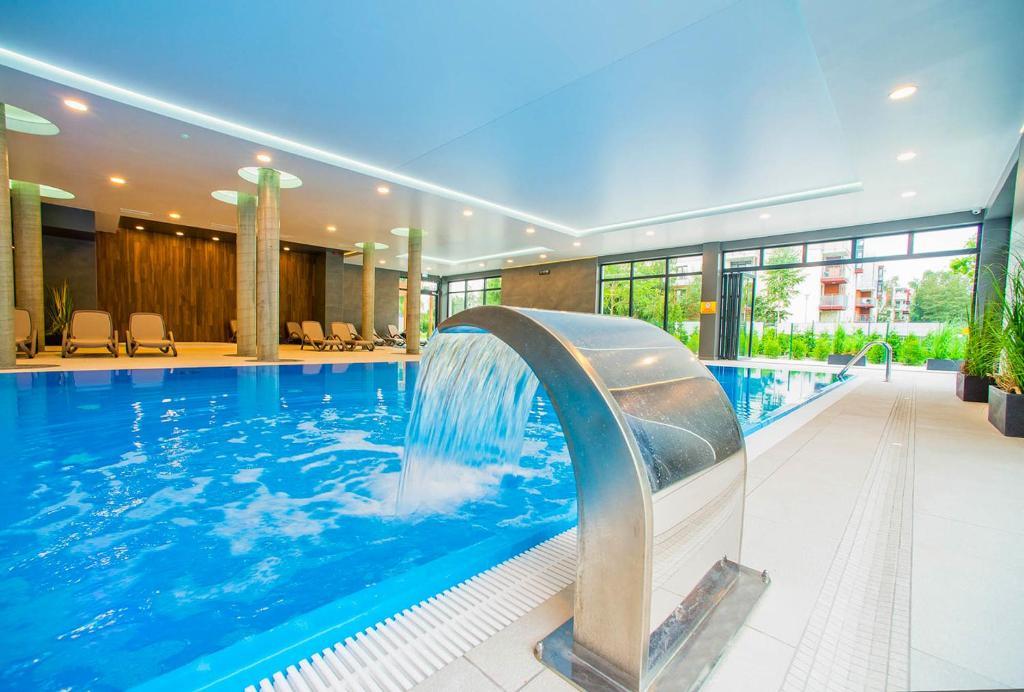 noclegi Kołobrzeg Apartament Sailor - Sauna & Pool - POLANKI PARK