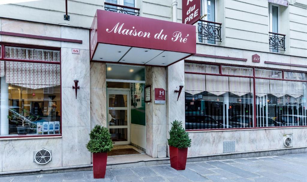 Hotel Maison Du Pre Paris
