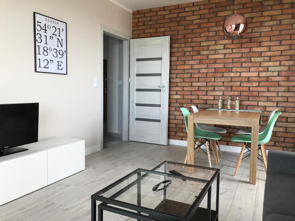 noclegi Gdańsk Bastion wałowa - luxury apartment with beautiful view